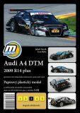 Audi A4 DTM 2009 R14 plus/papírový model - Jakub Novák, Ryba Ivan
