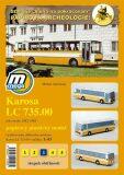 Karosa LC 735.00 rok výroby 1982 - 1985 /papírový model - Michal Antonický