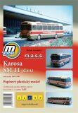Karosa ŠM 11 (ČSA) rok výroby 1964 - 1981/papírový model - Michal Antonický