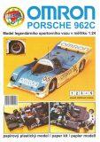 Omron: Porsche 962C  1:24/ papírový model - Michal Antonický