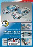Škoda 130 LR/papírový model - Michal Antonický