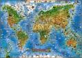 Živočichové celého světa (mapa) - neuveden