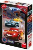 Cars 3: Vítězné kolo 100XL neon puzzle - Dino Toys