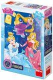 Princezny: Oslava 100XL neon puzzle - Dino Toys