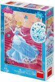 Popelka na schodech - Diamond puzzle 200 dílků - Dino Toys