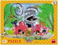 Krtek opravář: puzzle deskové 12 dílků - Dino Toys