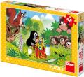 Puzzle Krtek a svačina 48 dílků - Dino Toys