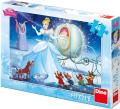 Disney Princezny - Popelka u kočáru: puzzle 48 dílků - Dino Toys