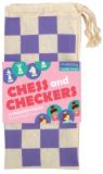 Chess and Checkers: Princess/Cestovní šachy: Princezny - Mudpuppy