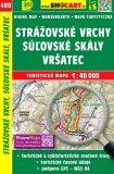 Stážovské vrchy, Súľovské skály, Vršatec 1:40 000 - SHOCART