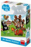 Krtek: Narozeniny - Maxi puzzle - 24 dílků - Dino Toys