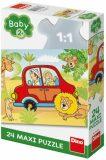 Safari - Maxi puzzle - 24 dílků - Dino Toys