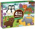 Puzzle 4 v 1: Zvířátka - Mudpuppy