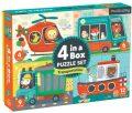Puzzle 4 v 1: Doprava - Mudpuppy