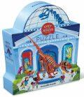 Puzzle: Den v muzeu - Dinosauři 48 dílků - Crocodile Creek