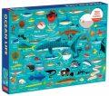 Puzzle - Podmořský svět 1000 dílků - Mudpuppy