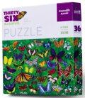 Puzzle Motýli 300 dílků - Crocodile Creek
