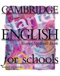 Cambridge English For Schools Starter Student´s Book - Andrew Littlejohn