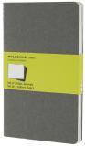 Moleskine: Sešity 3 ks čisté světle šedé L - Moleskine