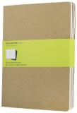 Moleskine Sešity 3 ks karton XL, čisté - Moleskine
