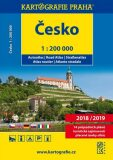 Česká republika - autoatlas 1:200 tis. - Kartografie PRAHA