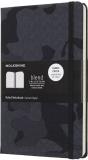 Moleskine: Blend zápisník linkovaný Camouflage černý L - Moleskine