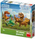 Maxi puzzle Hodný dinosaurus: V horách - 24 dílků - Walt Disney