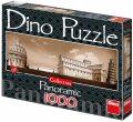 Panoramatické puzzle Pohled na Pisu - 1000 dílků - Dino Toys
