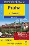 Praha do kapsy - plán města 1:20 000 - Kartografie PRAHA