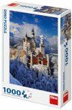 Neuschwanstein v zimě: puzzle 1000 dílků - Dino Toys