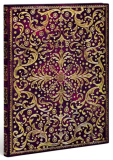 Zápisník Paperblanks - Rococo gold tooling - Aurelia - ultra, linkovaný - Hartley & Marks