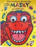 Karnevalové škrabošky Masky Dinosauři - Kolektiv