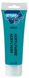 Akrylová barva tyrkysová 75ml - Laura