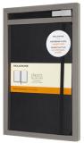 Moleskine - sada černý zápisník L a kuličkové pero 0,7 mm - Moleskine