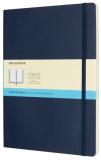 Moleskine - zápisník měkký, tečkovaný, modrý XL - Moleskine