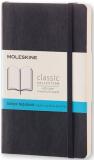 Moleskine - zápisník měkký, tečkovaný, černý S - Moleskine