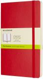 Moleskine - zápisník měkký, čistý, červený L - Moleskine