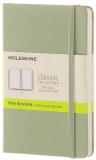 Moleskine - zápisník tvrdý, čistý, zelený S - Moleskine