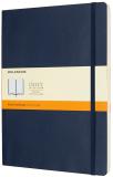 Moleskine - zápisník měkký, linkovaný, modrý XL - Moleskine
