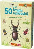 Expedice příroda: 50 druhů hmyzu a pavouků - MINDOK