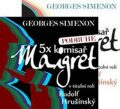 5x komisař Maigret + 5x komisař Maigret podruhé - Georges Simenon