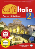 Caffé Italia 2 - učebnice - F. Federico,  A. Tancorre, ...