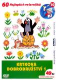 Krtkova dobrodružství 1. - DVD - Zdeněk Miler
