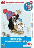 Krtkova dobrodružství 4. - DVD - Zdeněk Miler