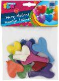 Balonky srdíčka 10ks - Laura
