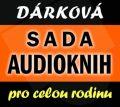 Dárková sada audioknih - kolektiv autorů