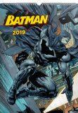 Kalendář nástěnný 2019 - Batman – Plakáty, 33 x 46 cm - Presco Group
