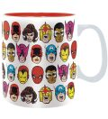 Hrnek Marvel - Marvel Heads (460 ml) - neuveden