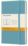 Moleskine - zápisník tvrdý, linkovaný, modrozelený S  - Moleskine