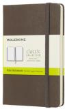 Moleskine - zápisník tvrdý, čistý, hnědý S - Moleskine
